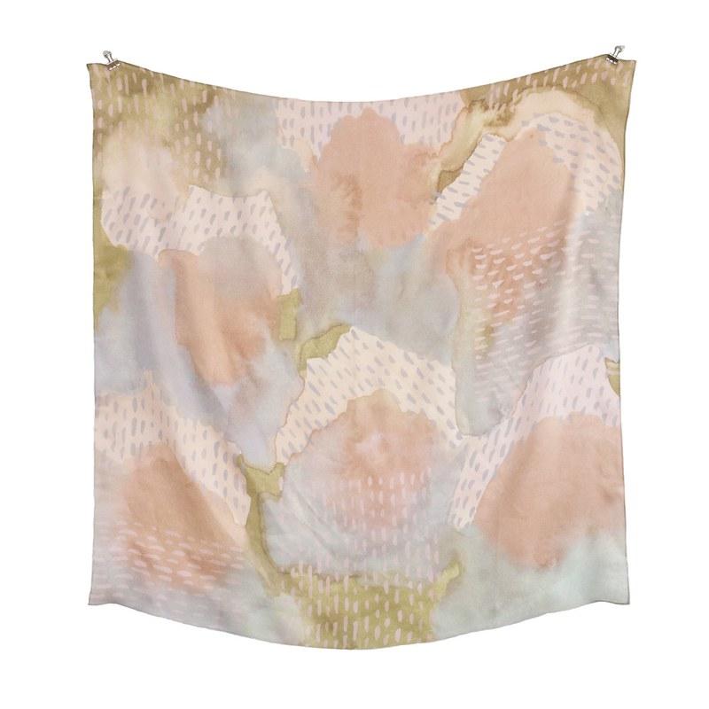 leahgoren-scarf-dashesWHITE