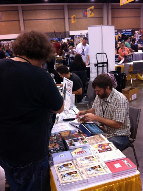 HeroesCon 2012  -- 09 -- Jeffrey Brown