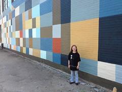Iz at Clark's Mural