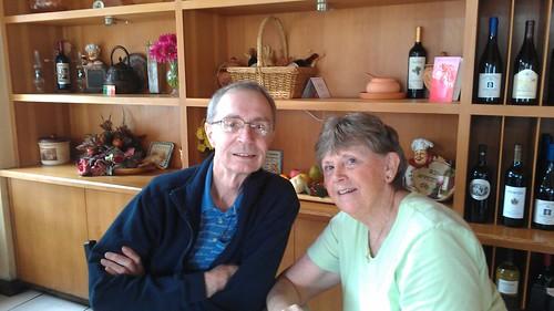"Bev and Dennis say ""hi Barbara"" by christopher575"