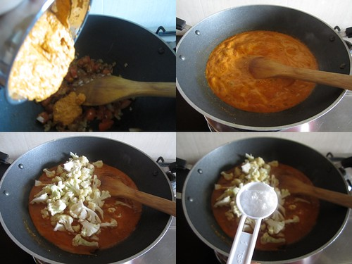 Cauliflower Kurma-step5