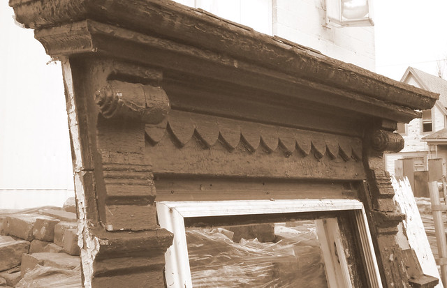 Victorian Window Frame