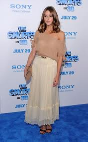 Olivia Palermo Maxi Skirt Celebrity Style Women's Fashion