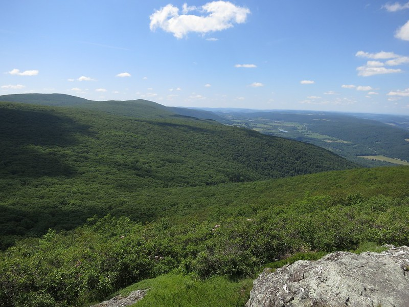 Brace Mountain from Alander Mountain