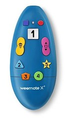 weemote X TV Remote Control, Blue Item No. WE-XB