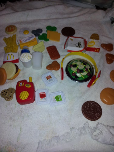 toy McDonalds food
