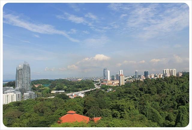 singapore cable car views