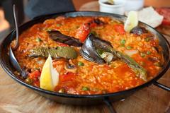 La Tasca Vegetarian Paella