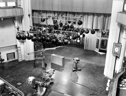 BBC Television Theatre 1957