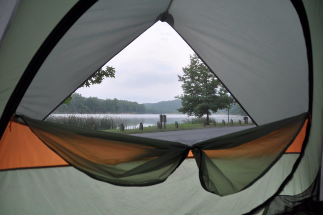 Amazing campgrounds at Douthat State Park