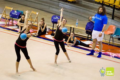 la ginnastica ritmica