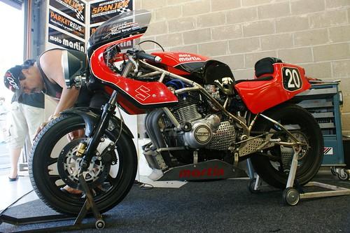 Suzuki-Martin GS1000 (Motorservice Spanjer Classic Race Team, Stef Hollands & Pascal Berger)