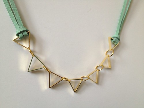 Cut Metal Necklace 10