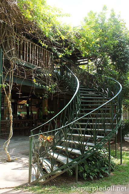 Casa San Pablo Stairs