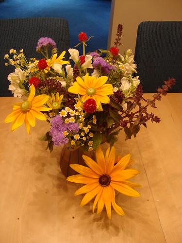 Princeton Farmer's Market flowers