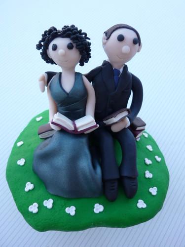 ♡ Los muñecos de mi tarta ♡ / My wedding cake toppers