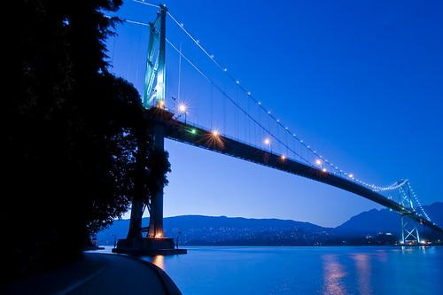 Blue Bridge by petetaylor