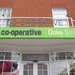 Chelmsford - old and new signage on Duke Street branch (Jul12) by Co-operative Stores