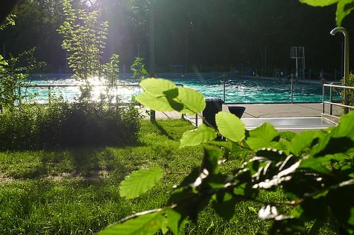 Freibad Hausen. Juli 2012
