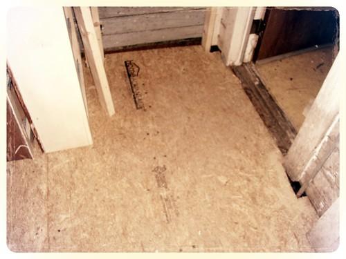 replacing the floor
