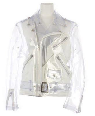 Comme des Garçons PVC Biker Jacket