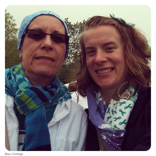 Mom and I at the NOCC walk in Chicago!