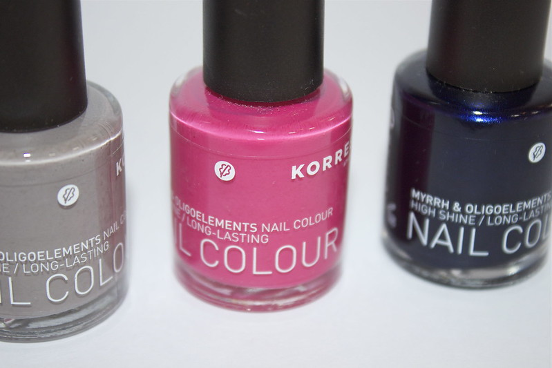 Korres nail colour range