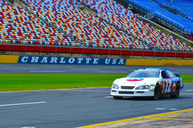 Mario andretti nascar racing experience flickr photo for Charlotte motor speedway nascar experience