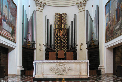 Tamburini Op. 537 / Op. 755 / Bonato. Abano Terme, Duomo