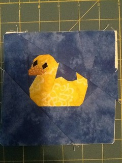 Rubber Duck Quilt Block