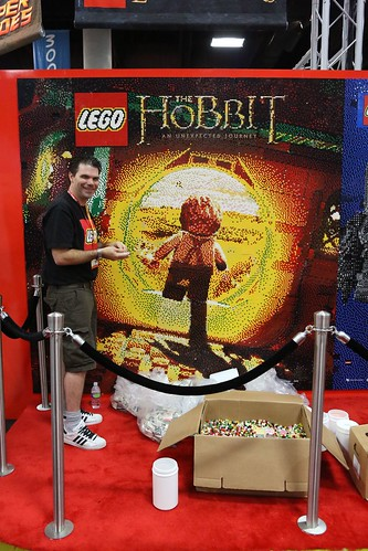 SDCC LEGO Mural - 8