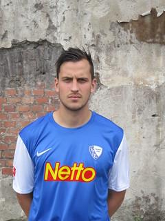 Patrick Fabian; VfL Bochum 1848 e.V.: Fotoshooting Mannschaftsfoto 2012/2013 (Jahrhunderthalle Bochum)