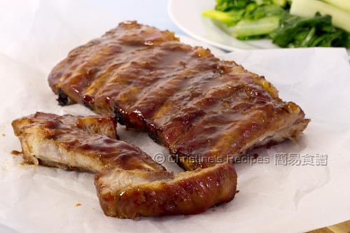 焗燒排骨 Sticky Baked Pork Rib02