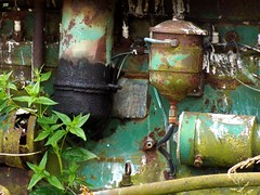 Tractor Engine, Whidbey Island, Washington