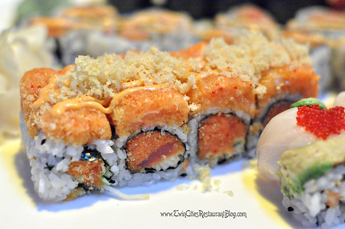Spicy Girl Roll at Osaka Sushi & Hibachi ~ Roseville, MN