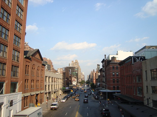 A view from the Highline