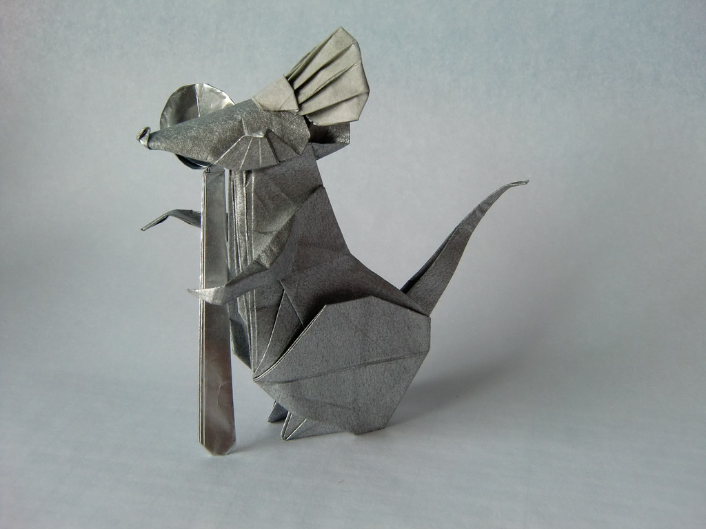 Origami jacobos most interesting flickr photos picssr chef rat by nguyen hung cuong jeuxipadfo Images
