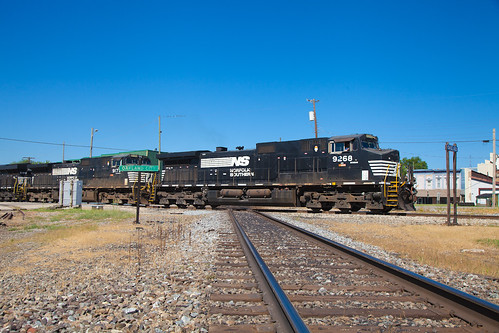 NS 9268 Oakland City IN 21 July 2012