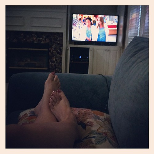 {Day 20} Naptime (ie: Daytime Crib Strike 2012 continues) = Old School Greys. So good, until it became so bad. #julyphotoaday #catchup
