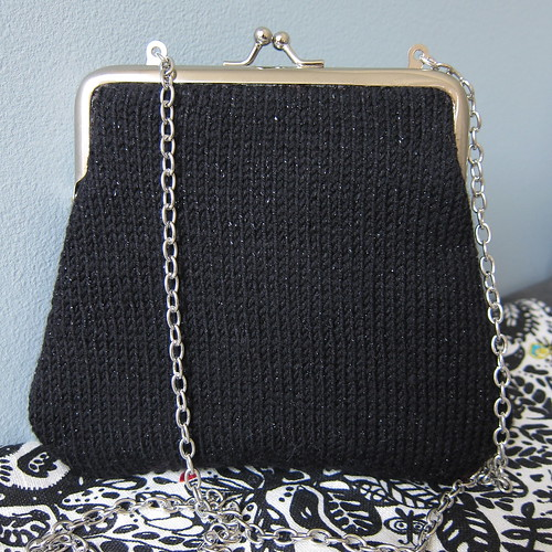 Knit Evening Bag