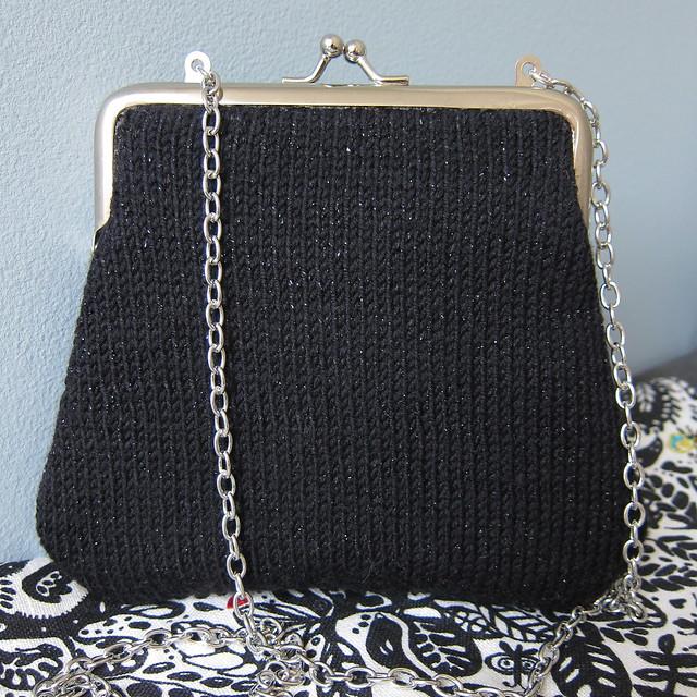 Knit Evening Bag Flickr - Photo Sharing!