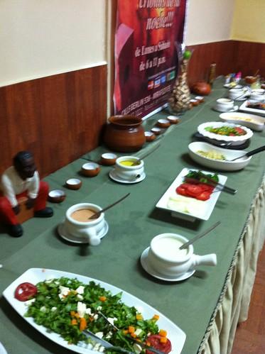 Lima (Perú) | Restaurante El Embrujo | Buffet de ensaladas