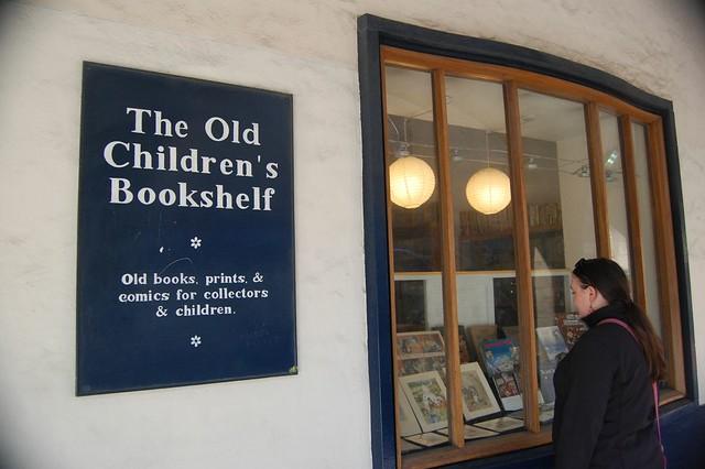 Old Children's Bookshelf