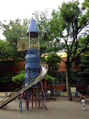 朝散歩 恵比寿公園 (2012/7/27)