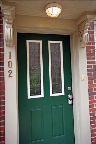 Standard door - type of door in new home