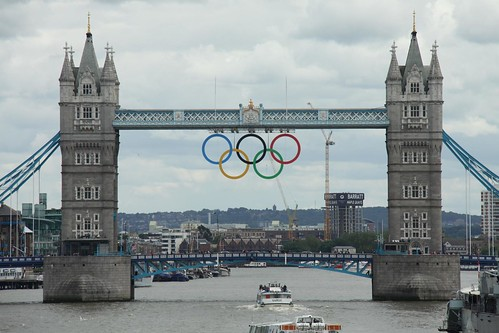 Olympic Rings in London