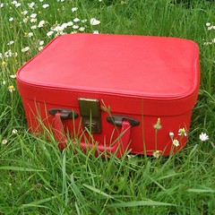 * memories of a little red suitcase *