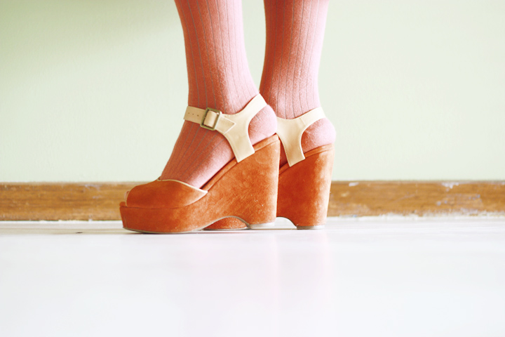 suede rust shoes gorman molly wedge