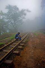 Matheran Moutain Light Railway Track