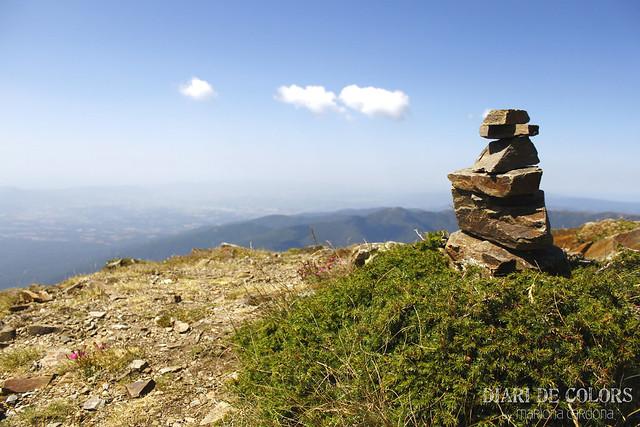 Vacaciones de verano en la  montaña